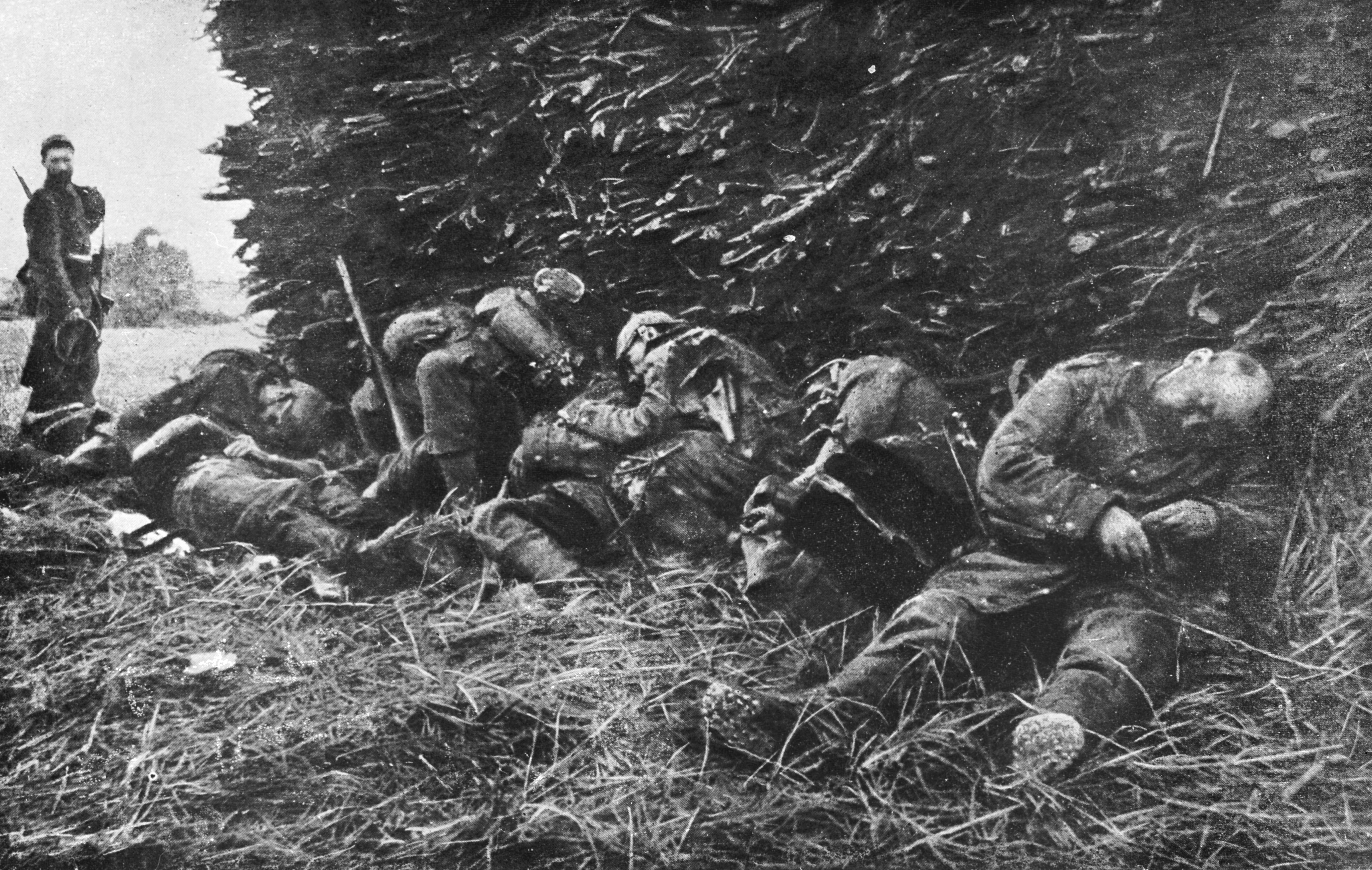 battle of the marne Just 33 days after the germans declared war on france in august 1914, its mighty forces had roared across belgium and penetrated into northeastern france.